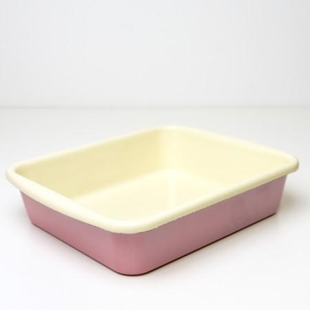 Pekáč čtvercový Riess růžový