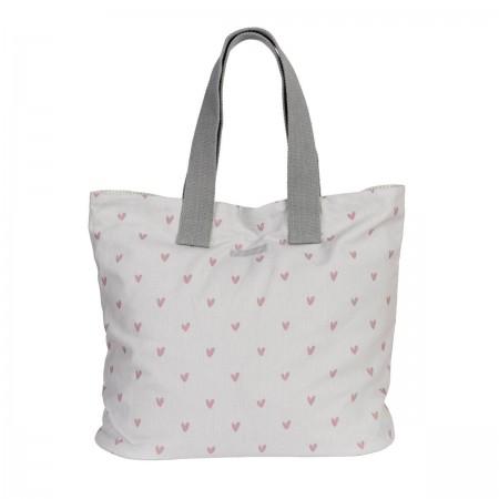 Textilní taška na nákupy Hearts