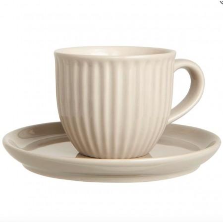 Šálek s podšálkem na lungo Mynte latte
