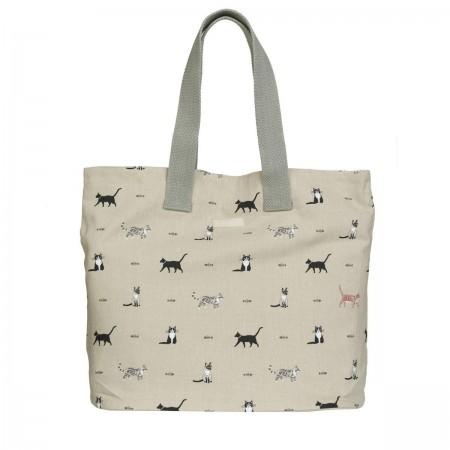 Textilní taška na nákupy Purrfect