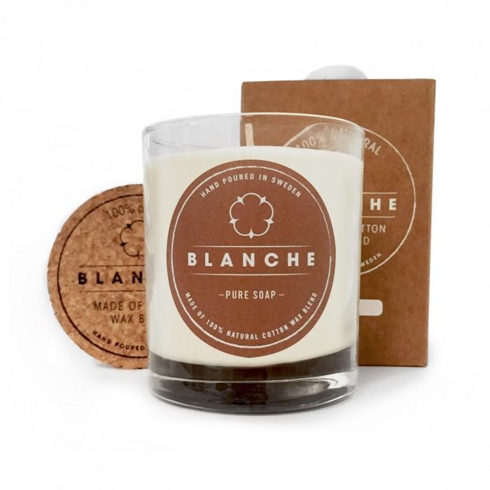 Vonná svíčka Blanche Pure soap velká