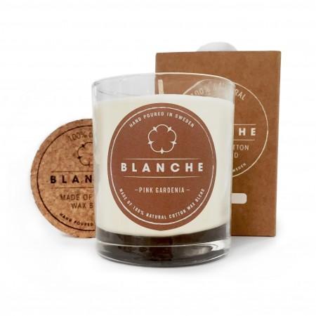 Vonná svíčka Blanche Pink Gardenia velká