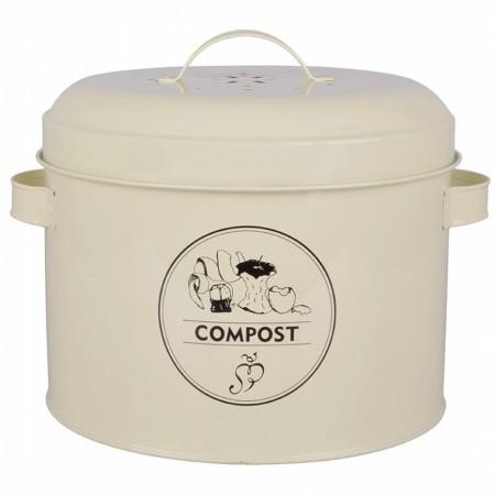 Dóza na kompost žlutá