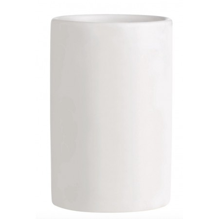 Keramický kalíšek na kartáčky KJ bílý