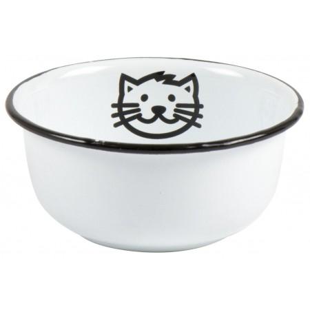 Smaltovaná miska pro kočičky