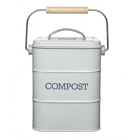 Dóza na kompost šedá Living Nostalgia