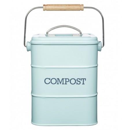 Dóza na kompost modrá Living Nostalgia