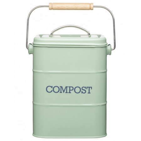 Dóza na kompost zelená Living Nostalgia