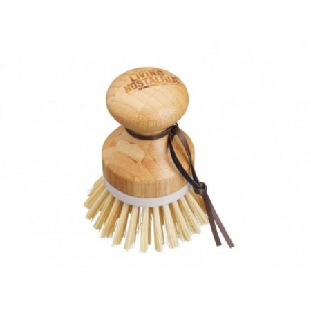 Kartáček na nádobí z bambusu Living Nostalgia