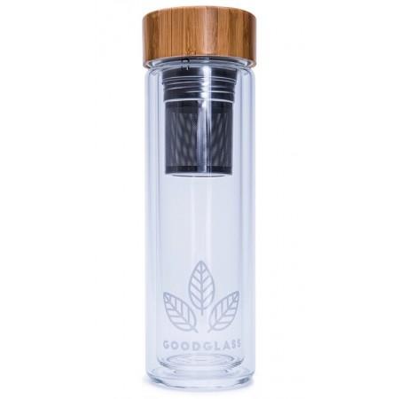 Láhev s dvojitým filtrem GoodGlass Thermo 450ml