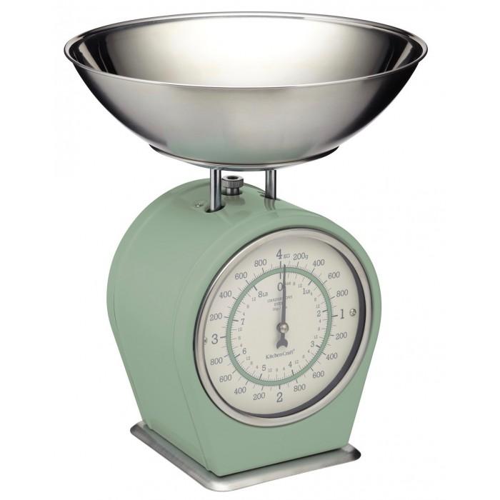 Kuchyňská váha zelená Living Nostalgia
