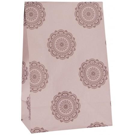 Vánoční papírový sáček Malva