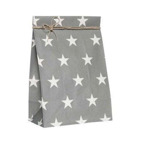 Vánoční papírový sáček Stars