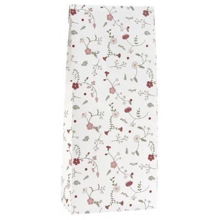 Vánoční papírový sáček Flowers