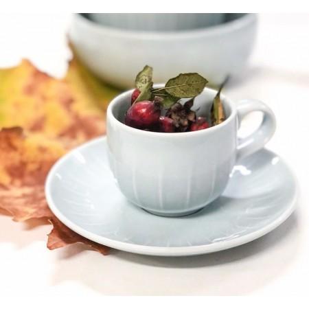 Porcelánový šálek s podšálkem na espresso Joyn mint green