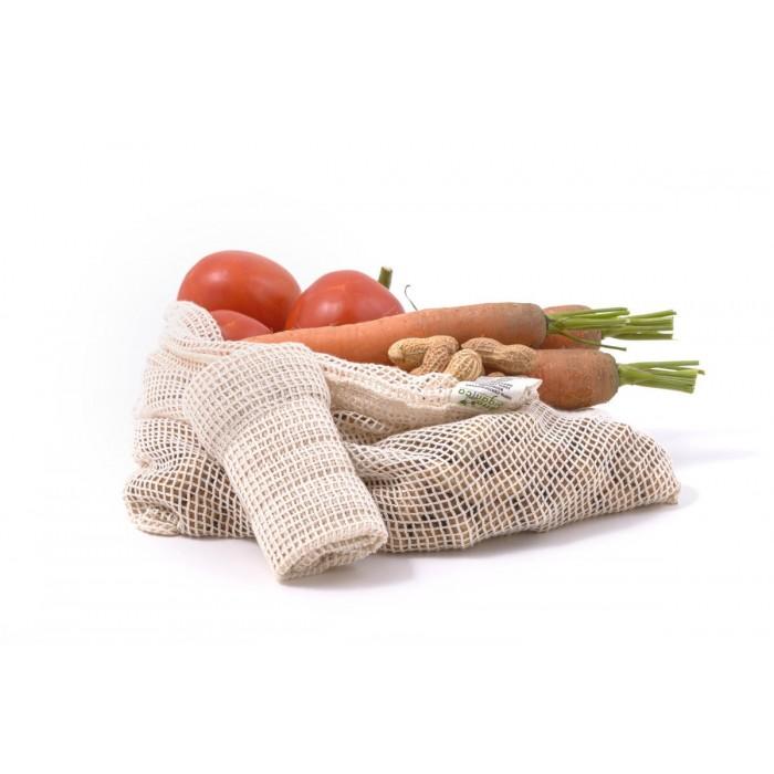 Větší síťovinový sáček na ovoce a zeleninu