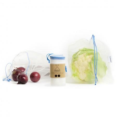 Frusack sáček na ovoce a zeleninu Blue DUO