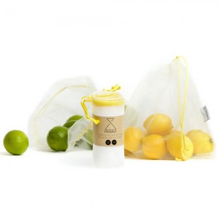 Frusack sáček na ovoce a zeleninu Yellow DUO