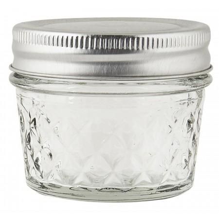 Mini úložná sklenice s víčkem / kořenka Harlequin 75ml