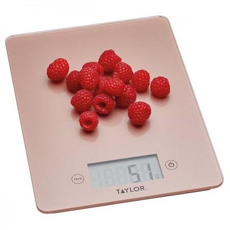 Digitální kuchyňská váha Rose gold 5kg