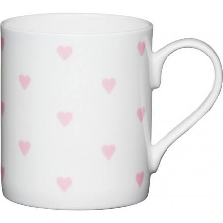 Porcelánový hrnek Pink hearts 250ml