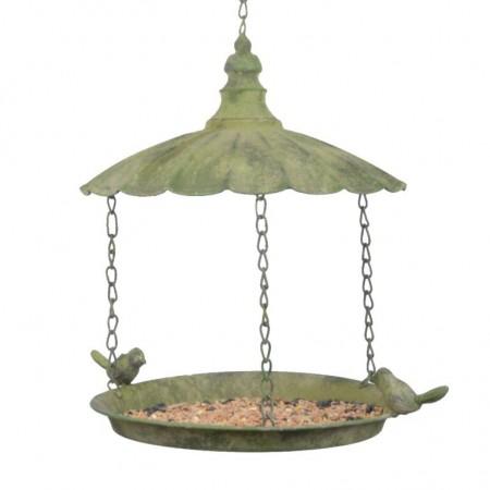 Krmítko pro ptáčky závěsné zelené