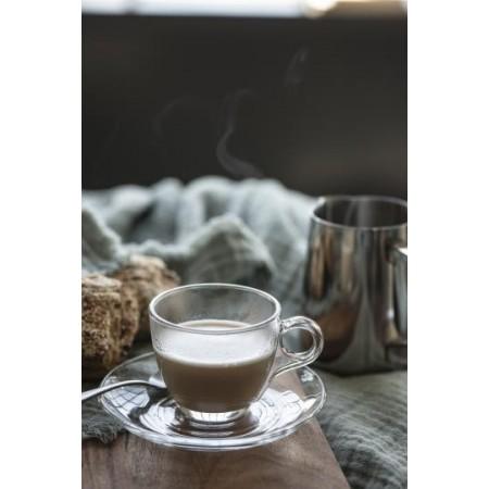 Skleněný šálek s podšálkem na espresso Ib Laursen