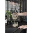 Úložná hranatá sklenice s víčkem 700ml