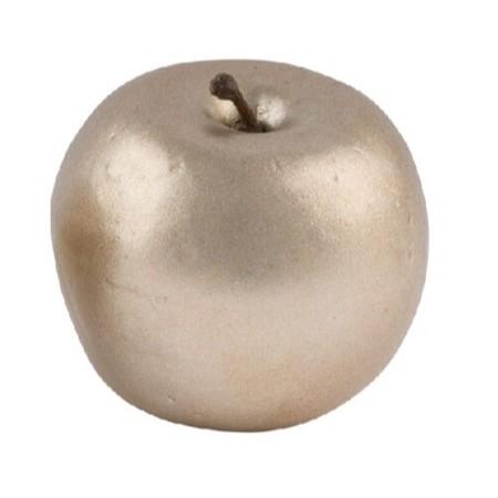 Dekorativní zlaté jablíčko 5cm