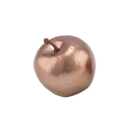 Dekorativní bronzové jablíčko 5cm