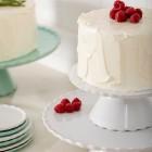 Stojan na dort a zákusky Forma bakeware 20cm bílý