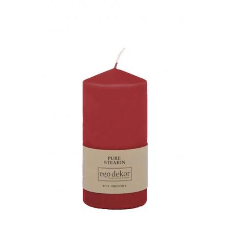 Červená svíčka 14cm