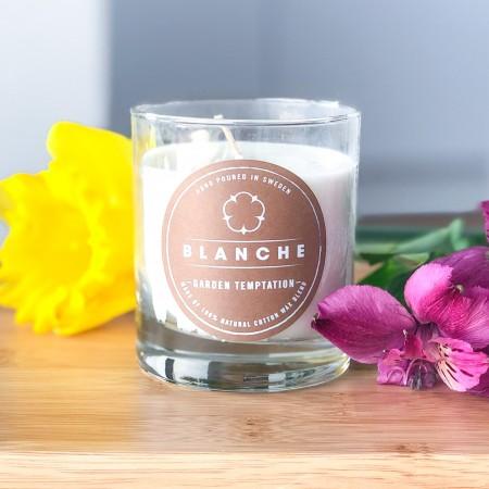 Vonná svíčka Blanche Garden Temptation velká