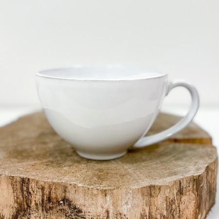 Velký hrnek na čaj Friso bílý 480ml