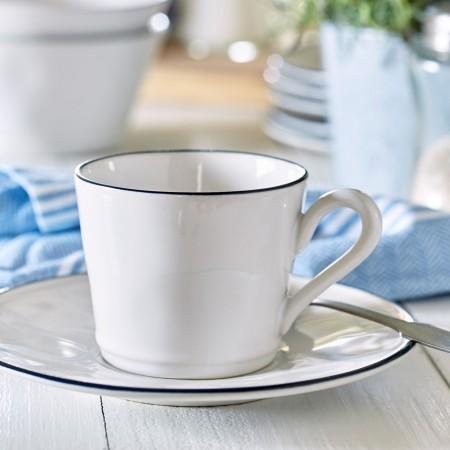 Šálek s podšálkem na čaj / kávu lungo Beja