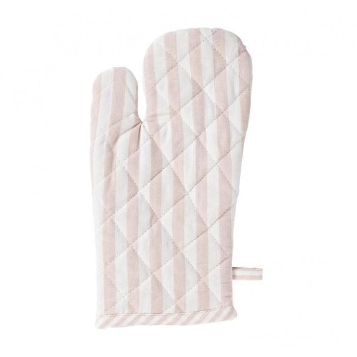 Kuchyňská chňapka Fine stripe soft pink