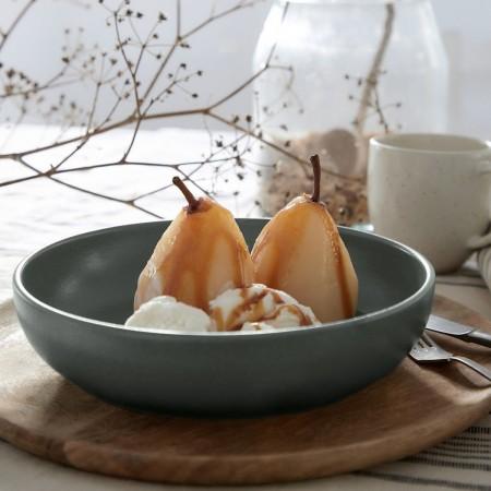 Hluboký talíř na těstoviny/polévku Pacifica artichoke green 22cm