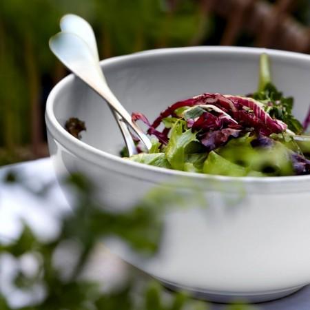 Hluboká salátová mísa Friso white 21cm