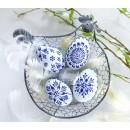 Velikonoční kraslice kachní modré 4ks