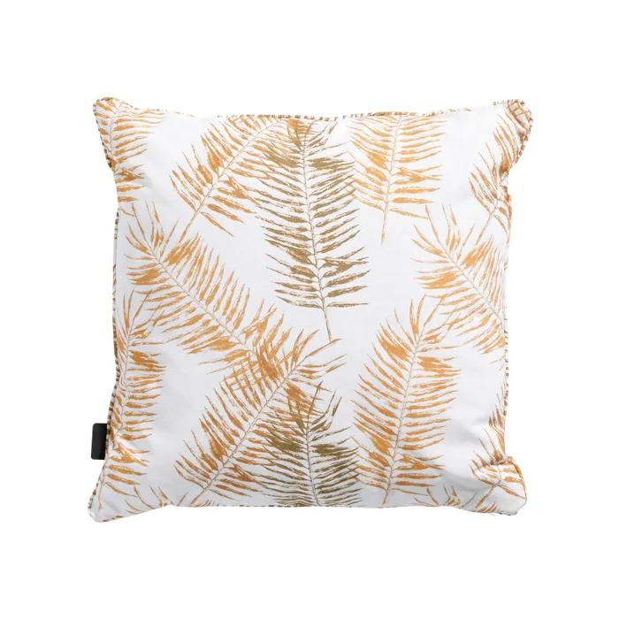 Venkovní dekorativní polštář Flora yellow outdoor 50x50cm