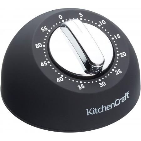 Černá kuchyňská minutka / časovač Taylor