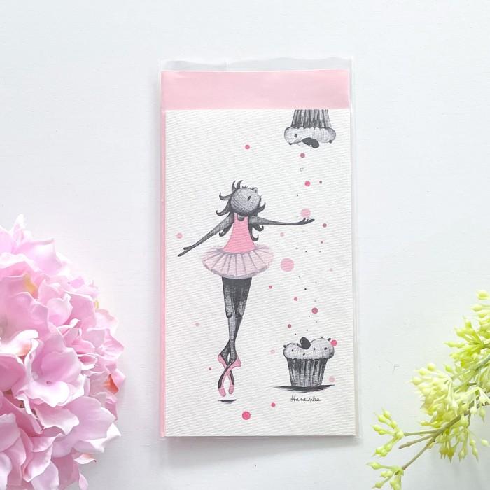 Autorské přáníčko Cupcakes