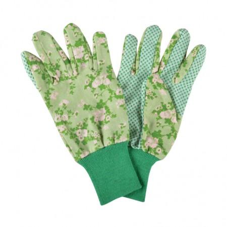 Lehké zahradnické rukavice Roses zelené