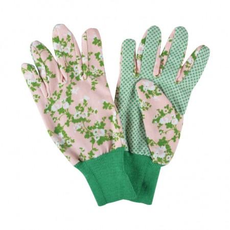 Lehké zahradnické rukavice Roses lososové