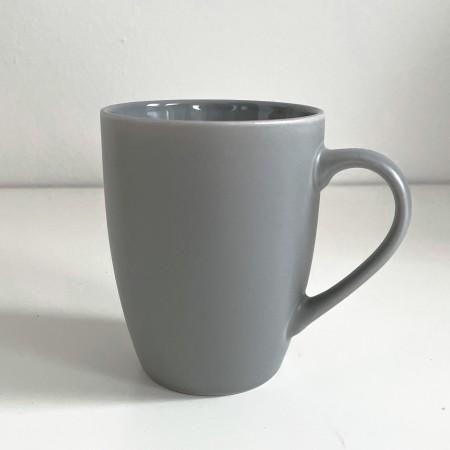 Hrnek na čaj Grey simple 300ml