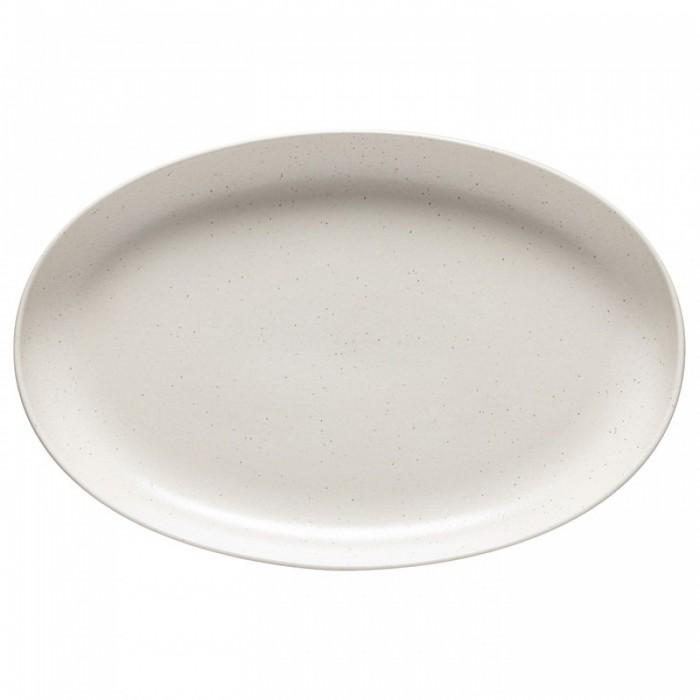 Oválný servírovací talíř Pacifica vanilla 41cm