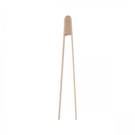 Malé dřevěné kuchyňské kleště 25cm