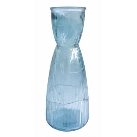Váza z recyklovaného skla Denim 900ml
